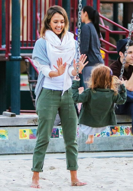 Tanger Outlets_Green Pants