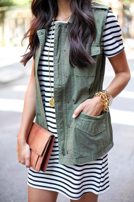 Tanger Outlets_Green Vest