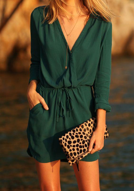 Tanger Outlets_Green romper