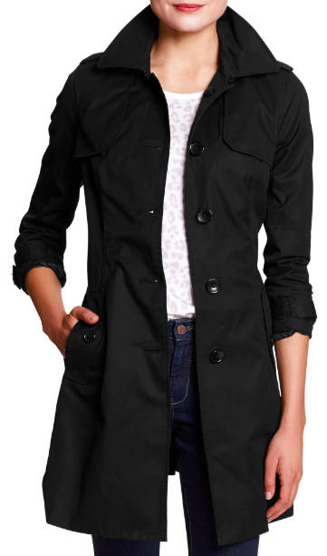 Tanger Outlets_Black Trench