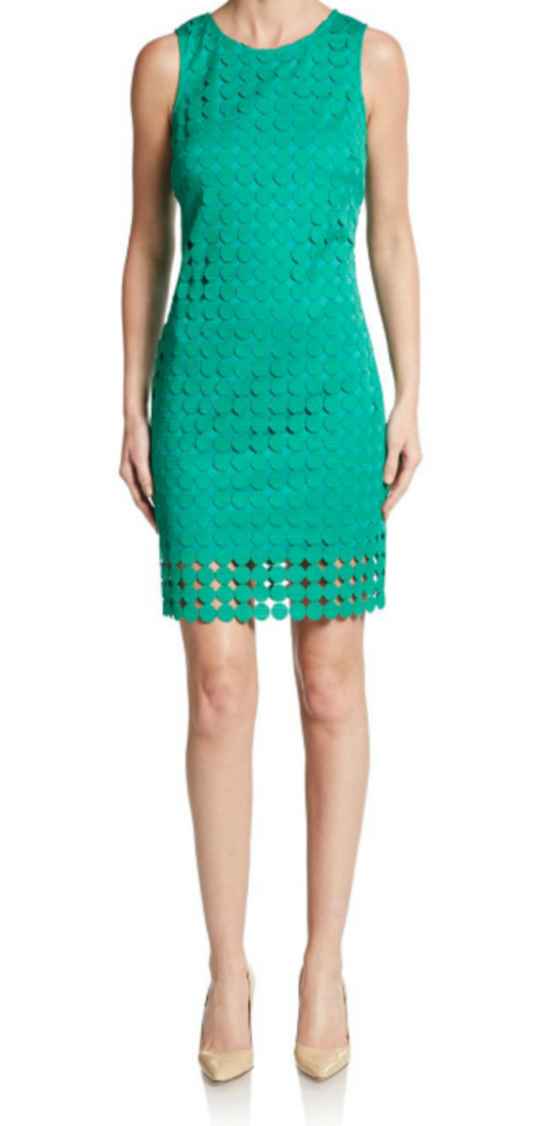 Tanger Outlets_Green Dress