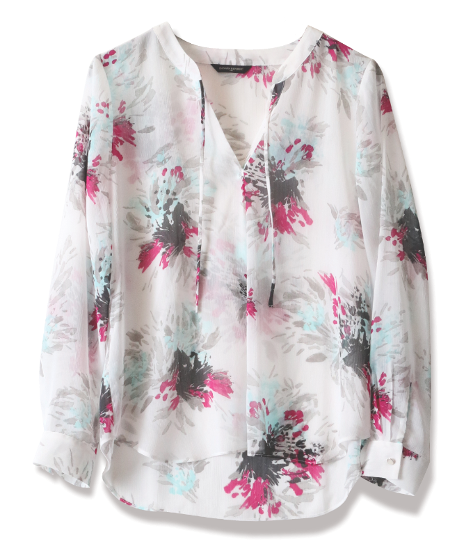 Tanger Outlets_Floral Blouse