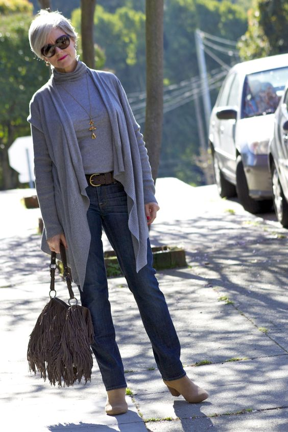 Tanger Outlets_Grey Sweater