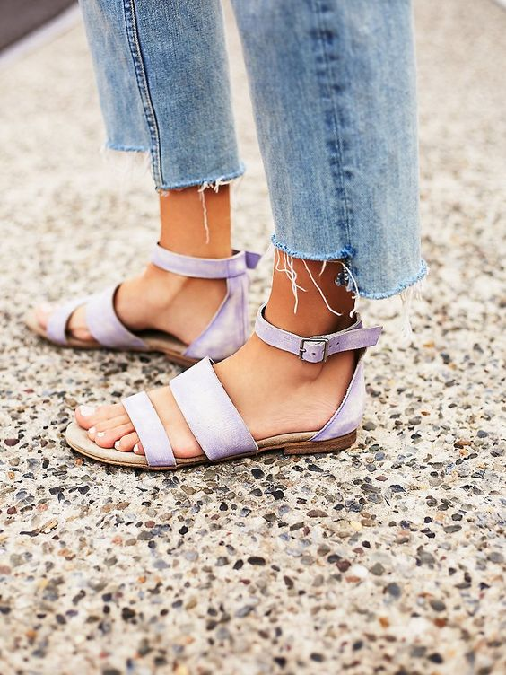 Tanger Outlets_Purple Sandals