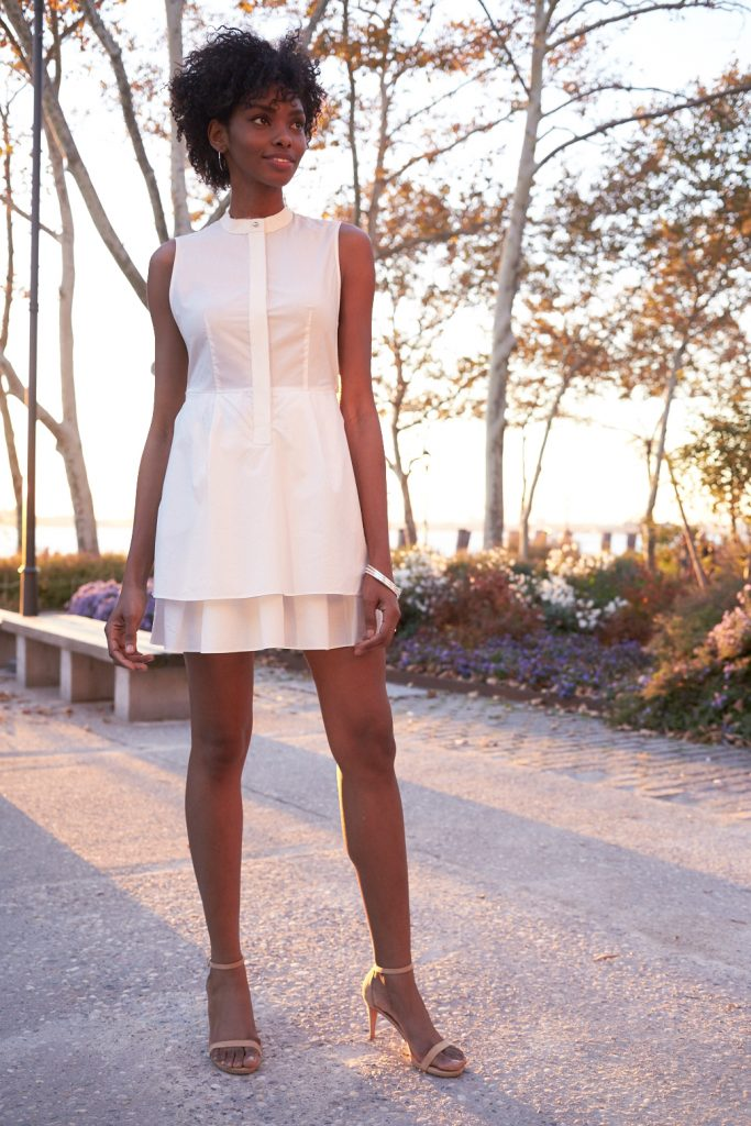 Tanger Outlets_White Shirtdress