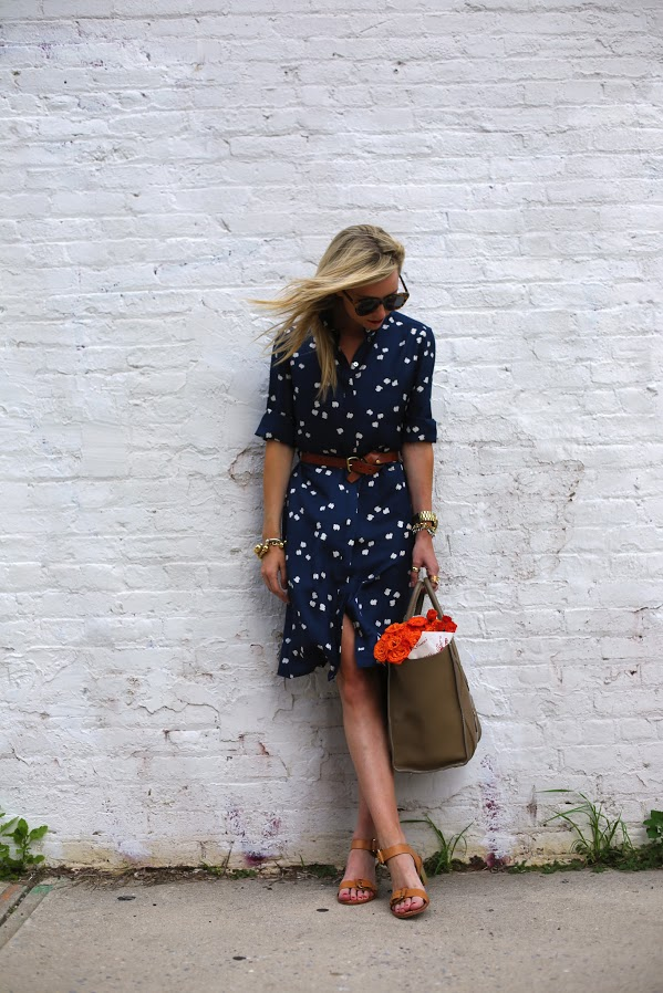Mom_Shirt Dress_Polka Dots