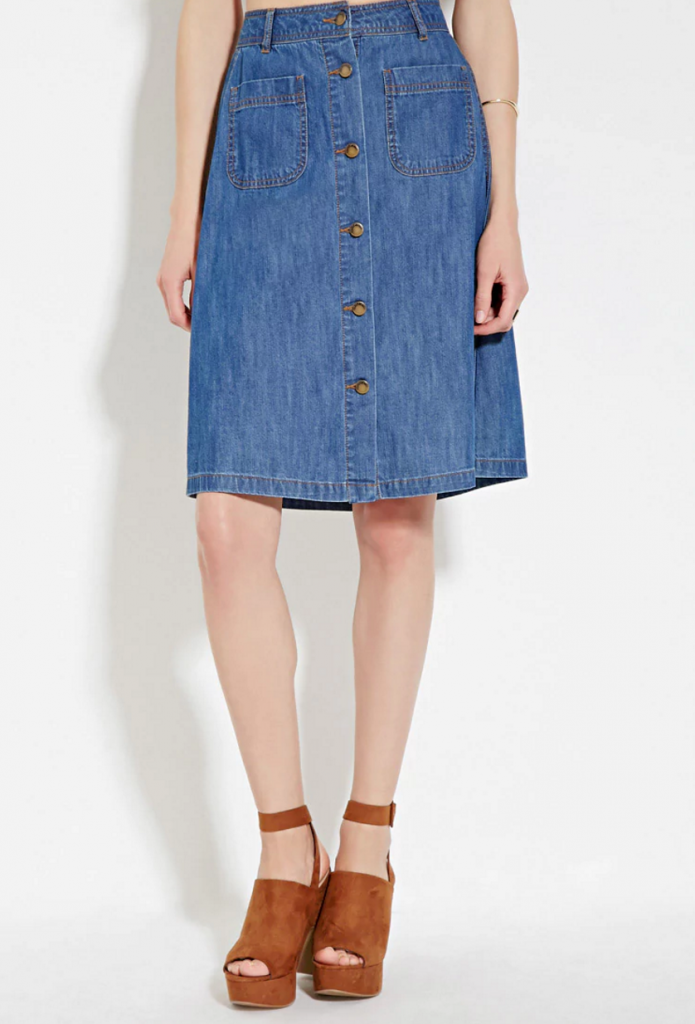 Forever21_Denim Skirt