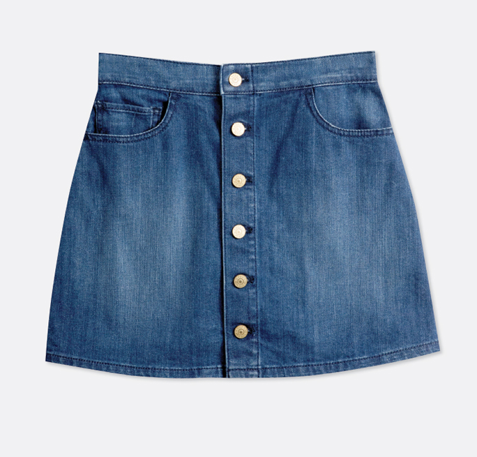 TangerOutlets_Denim Skirt