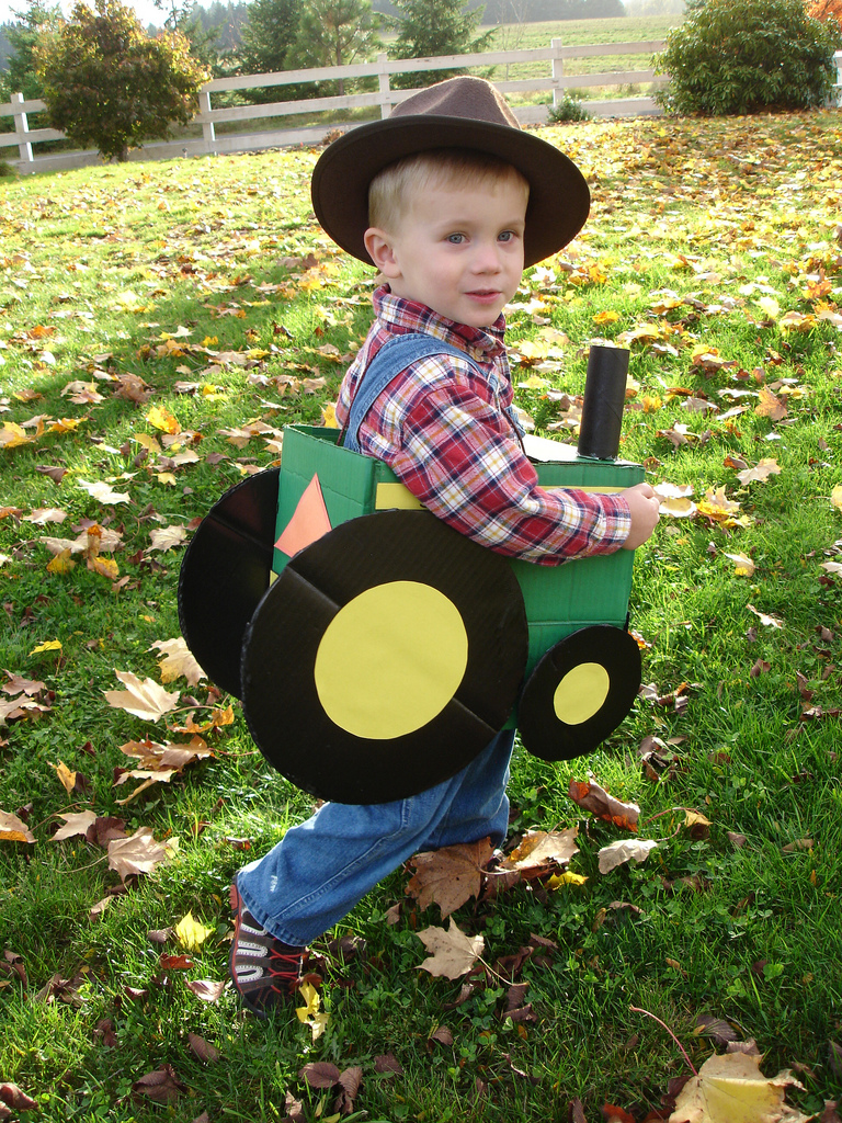 The Lil Farmer & His Tractor