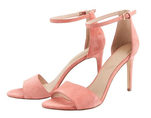 Tanger Outlets pink strappy heels
