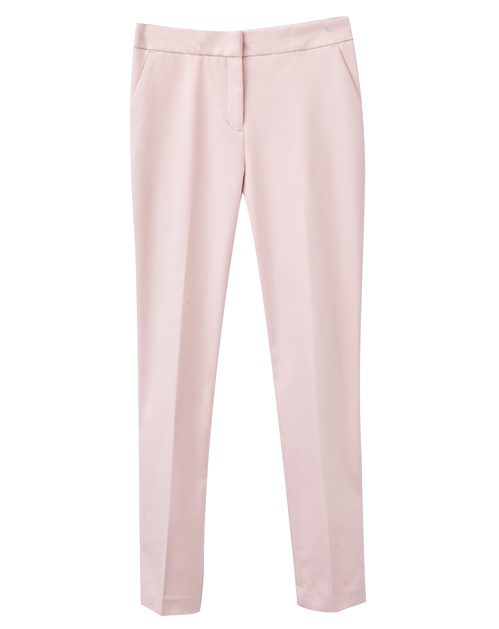Tanger Outlets Ann Taylor Factory Store blush pants