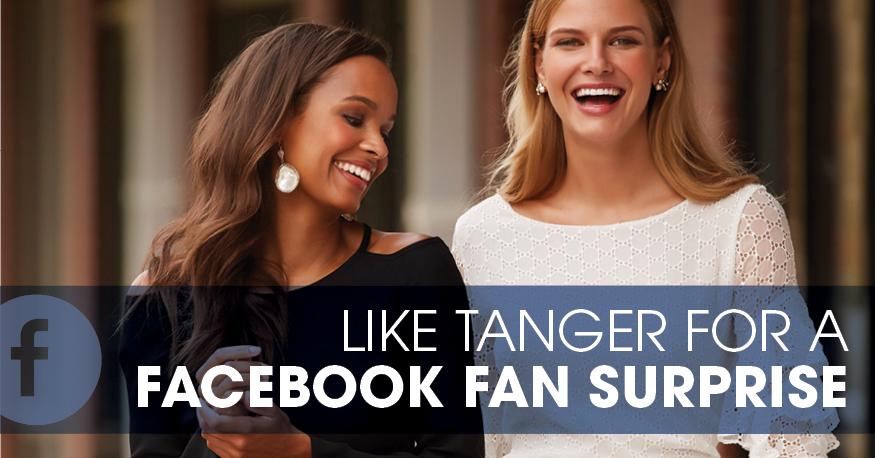 Tanger Outlets Facebook Fan Surprise
