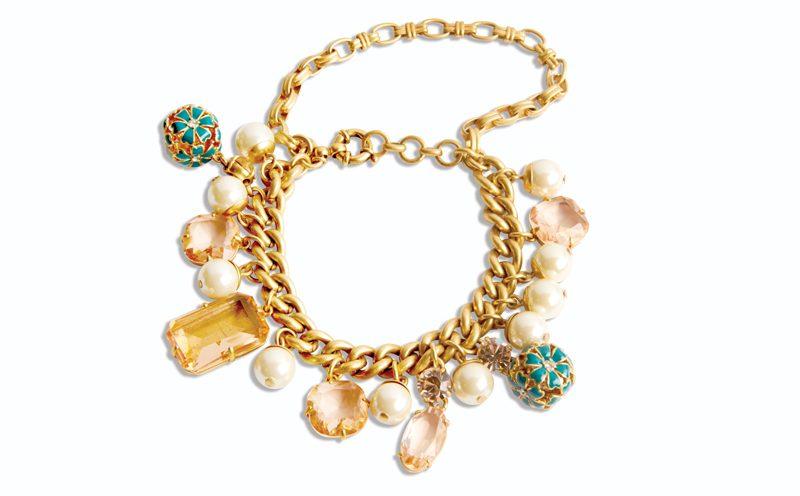 Tanger Outlets gold bracelet