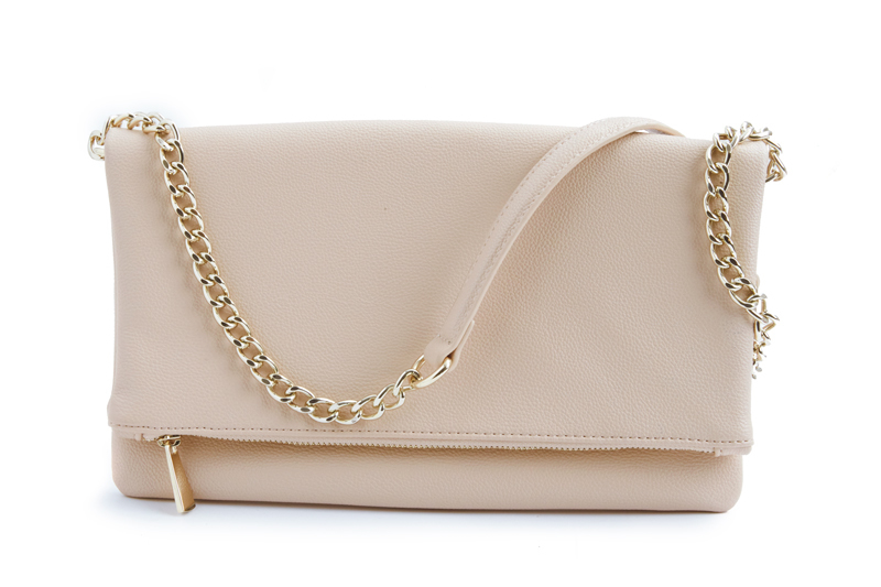 Tanger Outlets Express Factory Outlet blush clutch