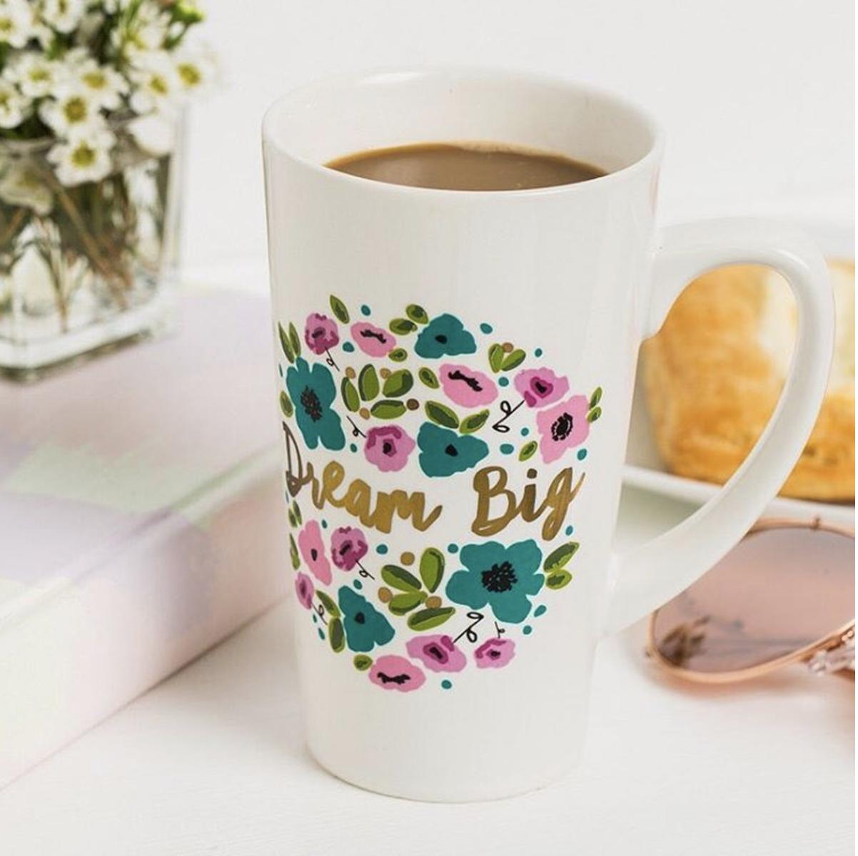 Tanger Outlets francesca's dream big mug
