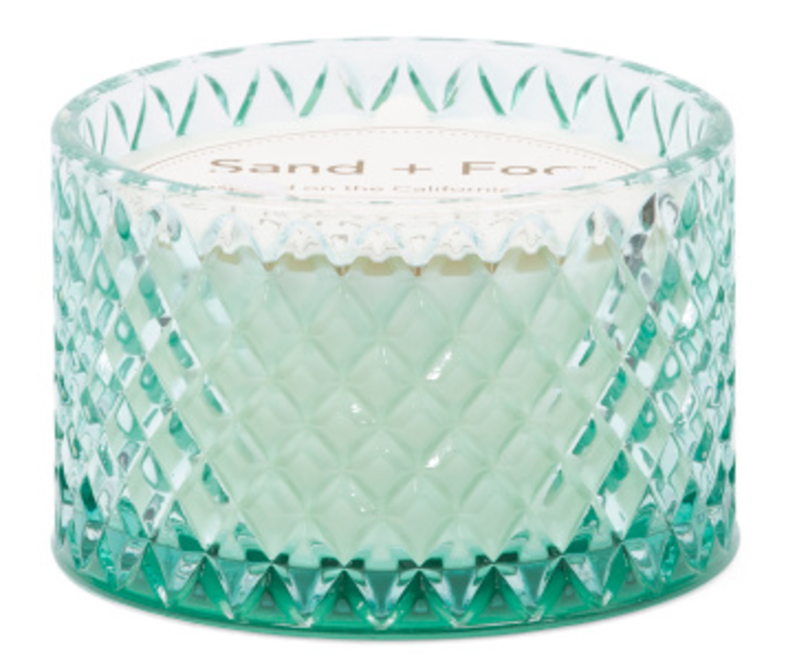 Tanger Outlets T.J. Maxx glass candle