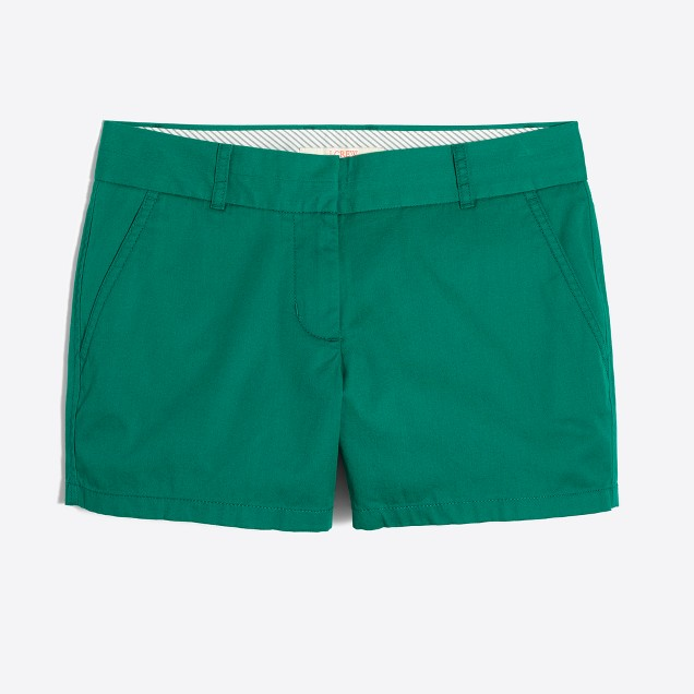Tanger Outlets J.Crew Factory Chino shorts