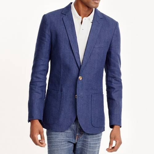 Tanger Outlets J.Crew Factory navy blazer