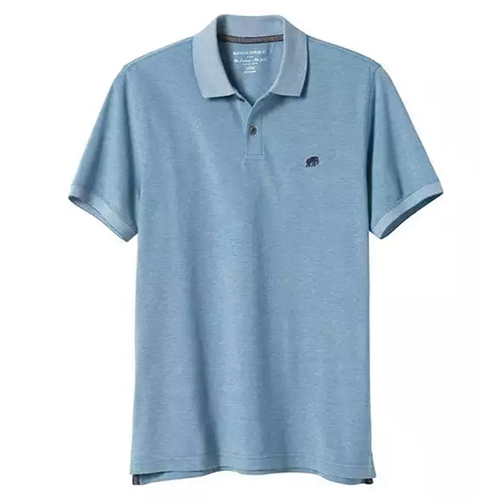 Tanger Outlets Banana Republic Factory Store blue polo