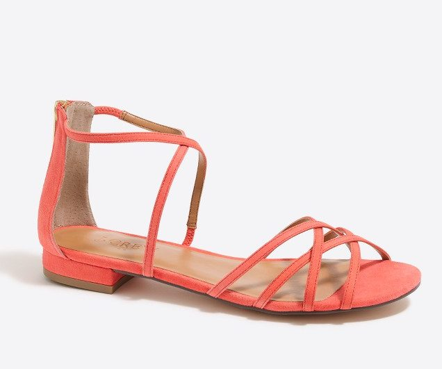 Tanger Outlets J.Crew Factory sandals