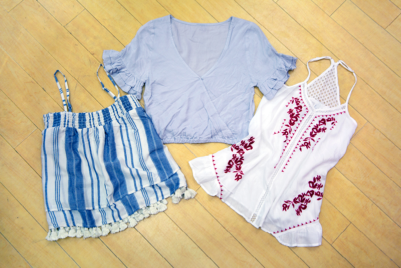 Tanger Outlets Charlotte Russe Outlet july 4th tops