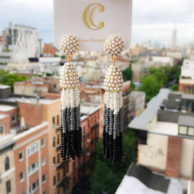 Tanger Outlets Charming Charlie tassel earring