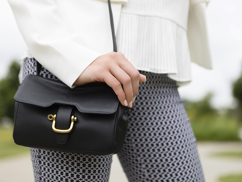 Tanger Outlets J.Crew Factory Black Crossbody