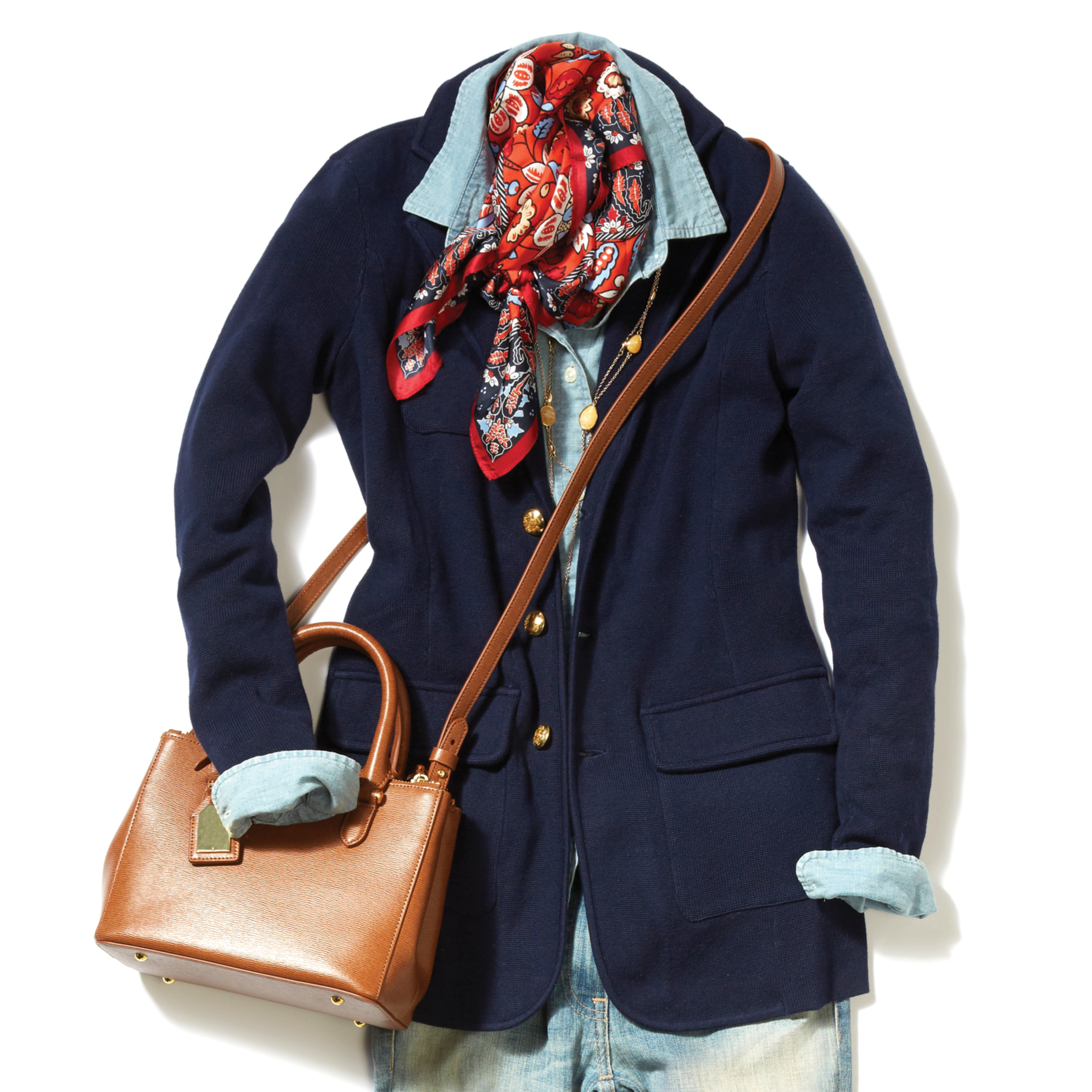 Tanger Outlets layers trend