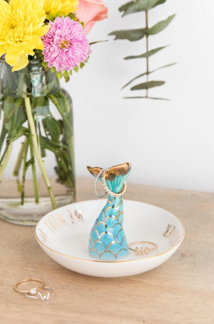 Tanger Outlets francesca's mermaid ring holder