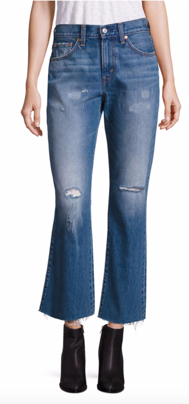 Tanger Outlets Saks OFF 5th Levi's flare jeans