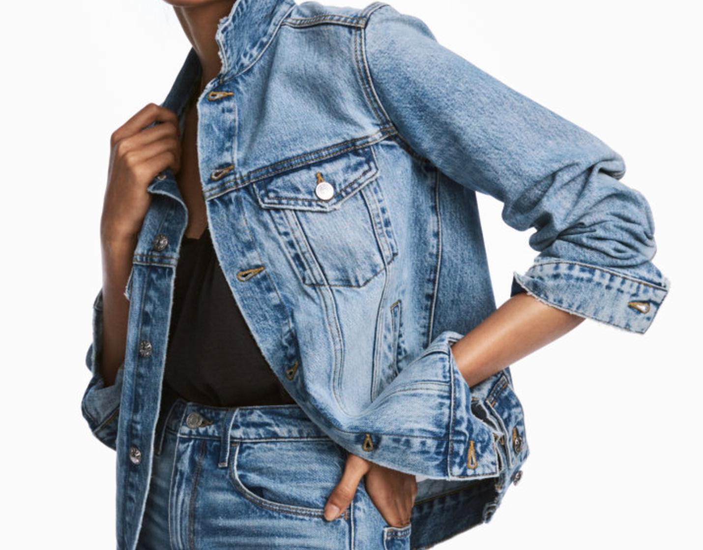 Tanger Outlets H&M denim jacket