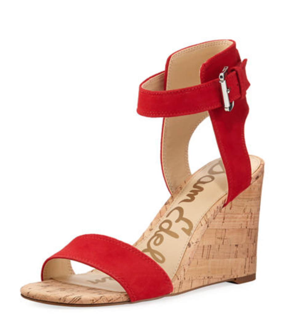 Tanger Outlets Neiman Marcus Last Call red wedge