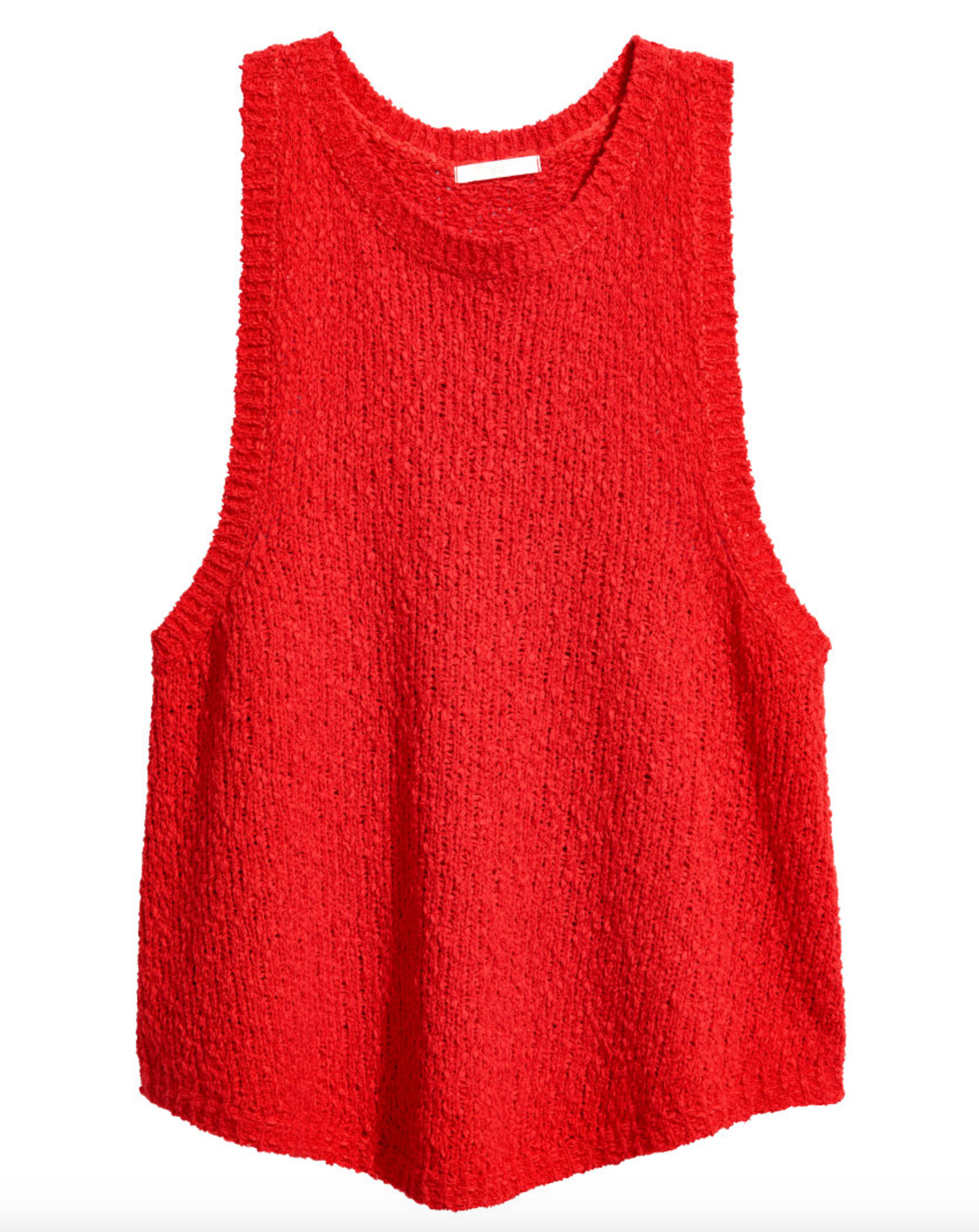 Tanger Outlets H&M red knit top