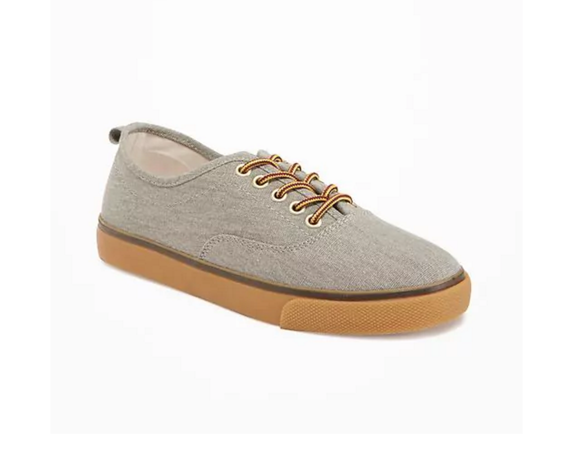 Tanger Outlets Old Navy Outlet boy's lace up sneaker