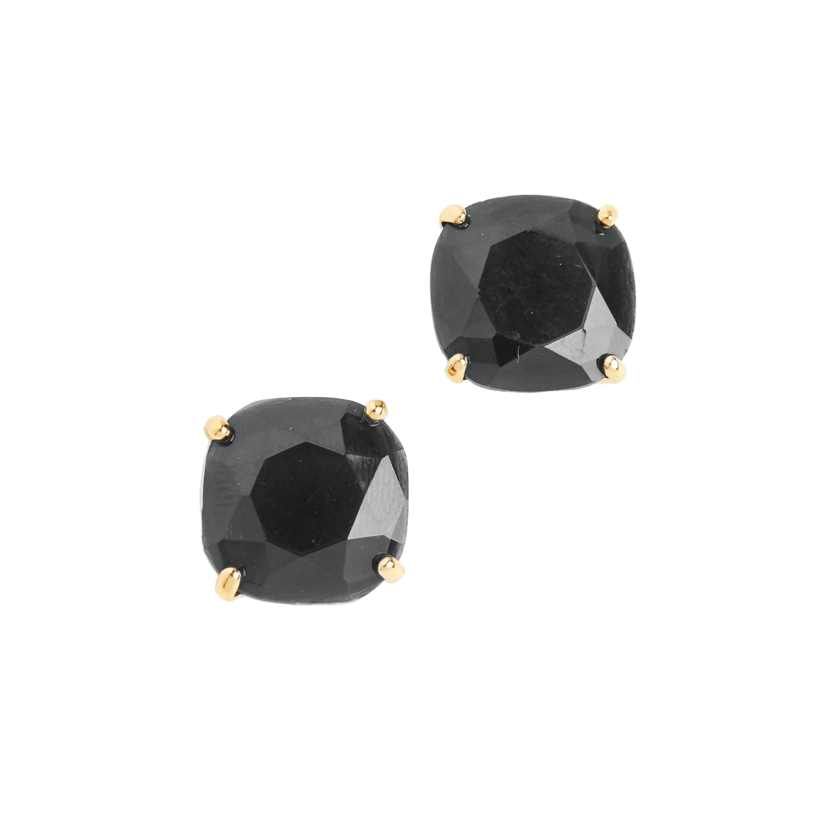 Tanger Outlets Kate Spade black stud earrings