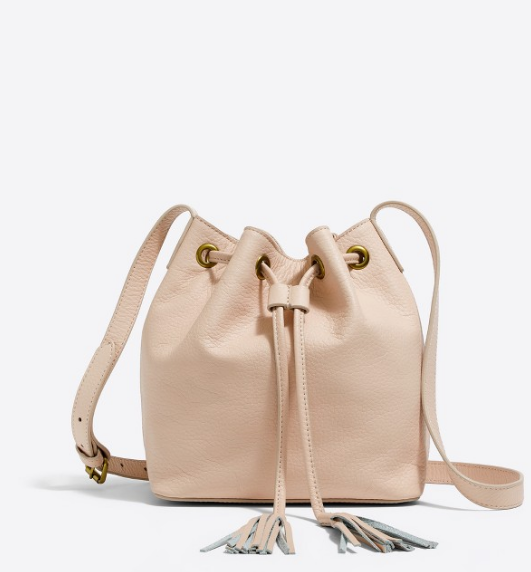 Tanger Outlets J.Crew Factory tassel bucket bag
