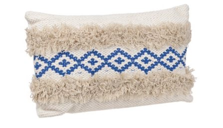 Tanger Outlets Kirkland's throw fringe pillow