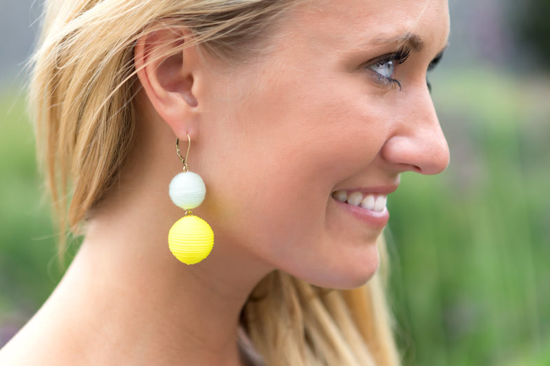 tanger outlets j crew multicolored drop earrings
