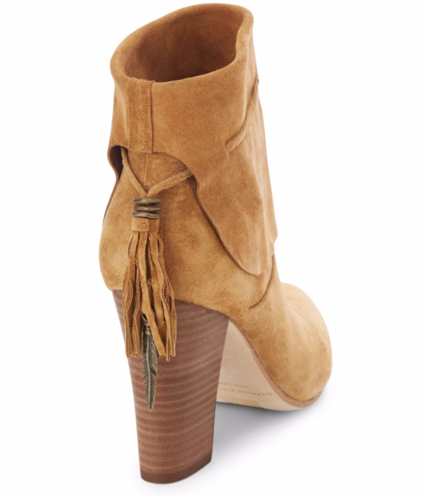tanger outlets saks off fifth tasseled leather bootie