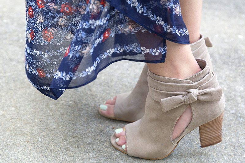 tanger outlets nine west taupe suede booties