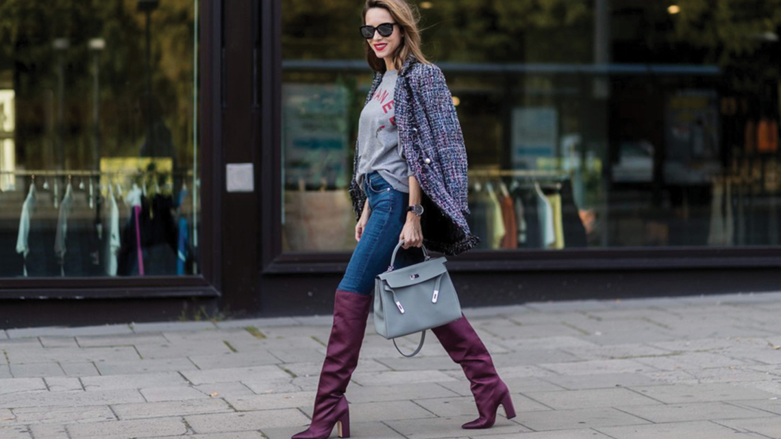 how to wear over the knee boots 2017
