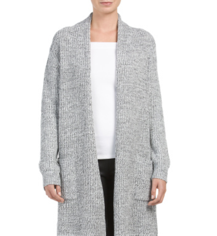 tanger outlets tjmaxx oversized knit cardigan