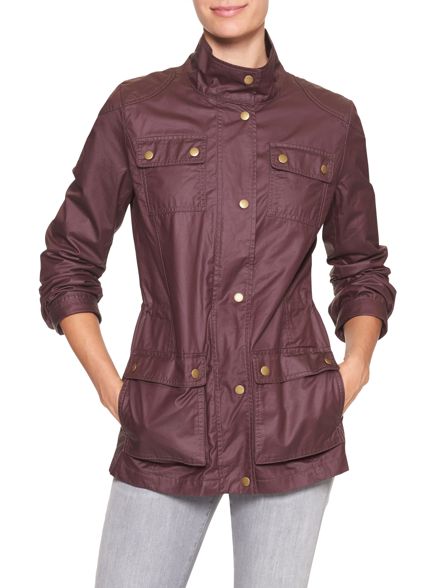 tanger outlets banana republic utility jacket