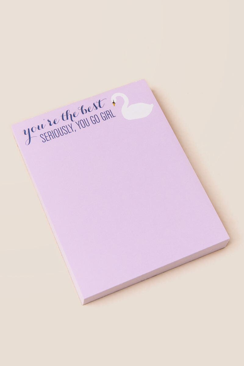 tanger outlets francescas everyday quote notepad