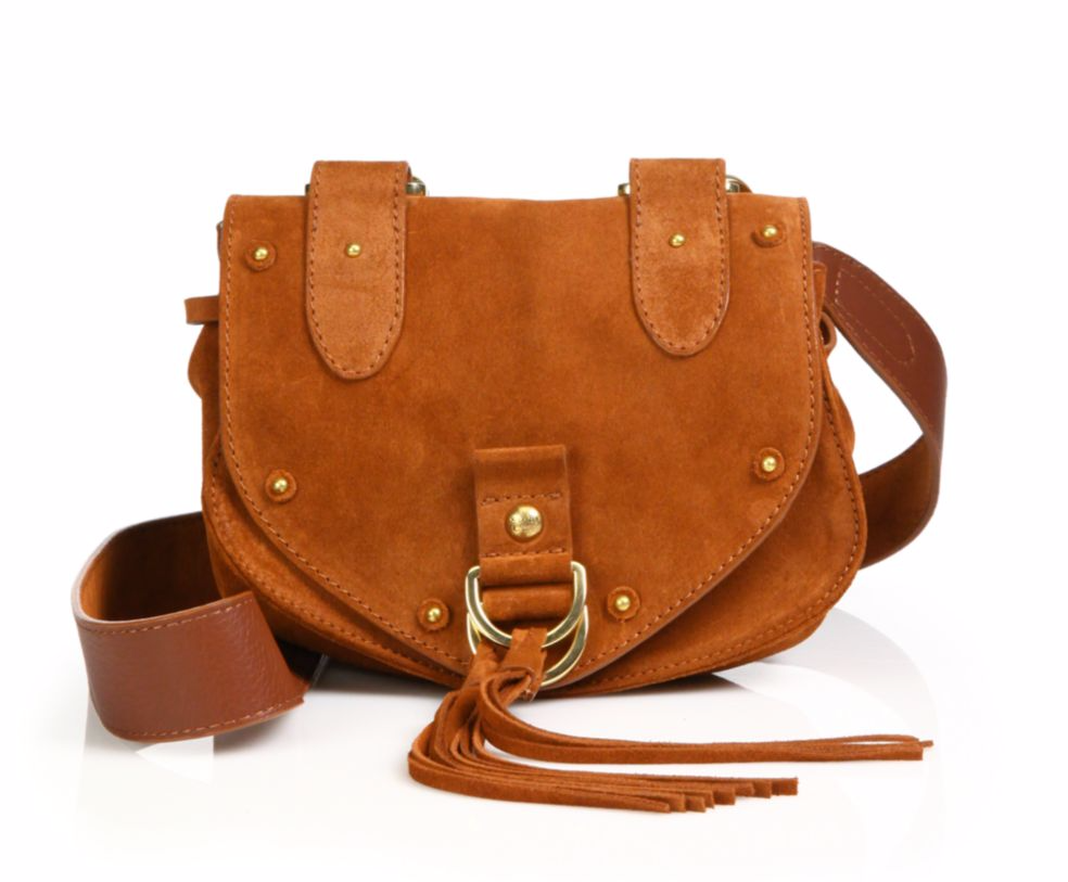 tanger outlets saks off fifth brown saddle bag