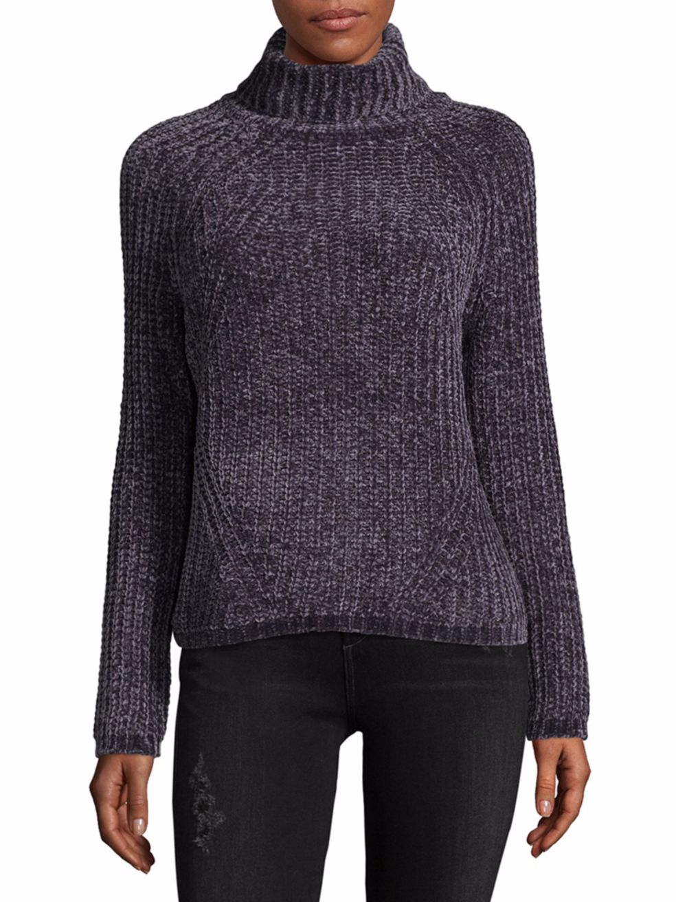 tanger outlets saks off fifth chenille turtle neck sweater