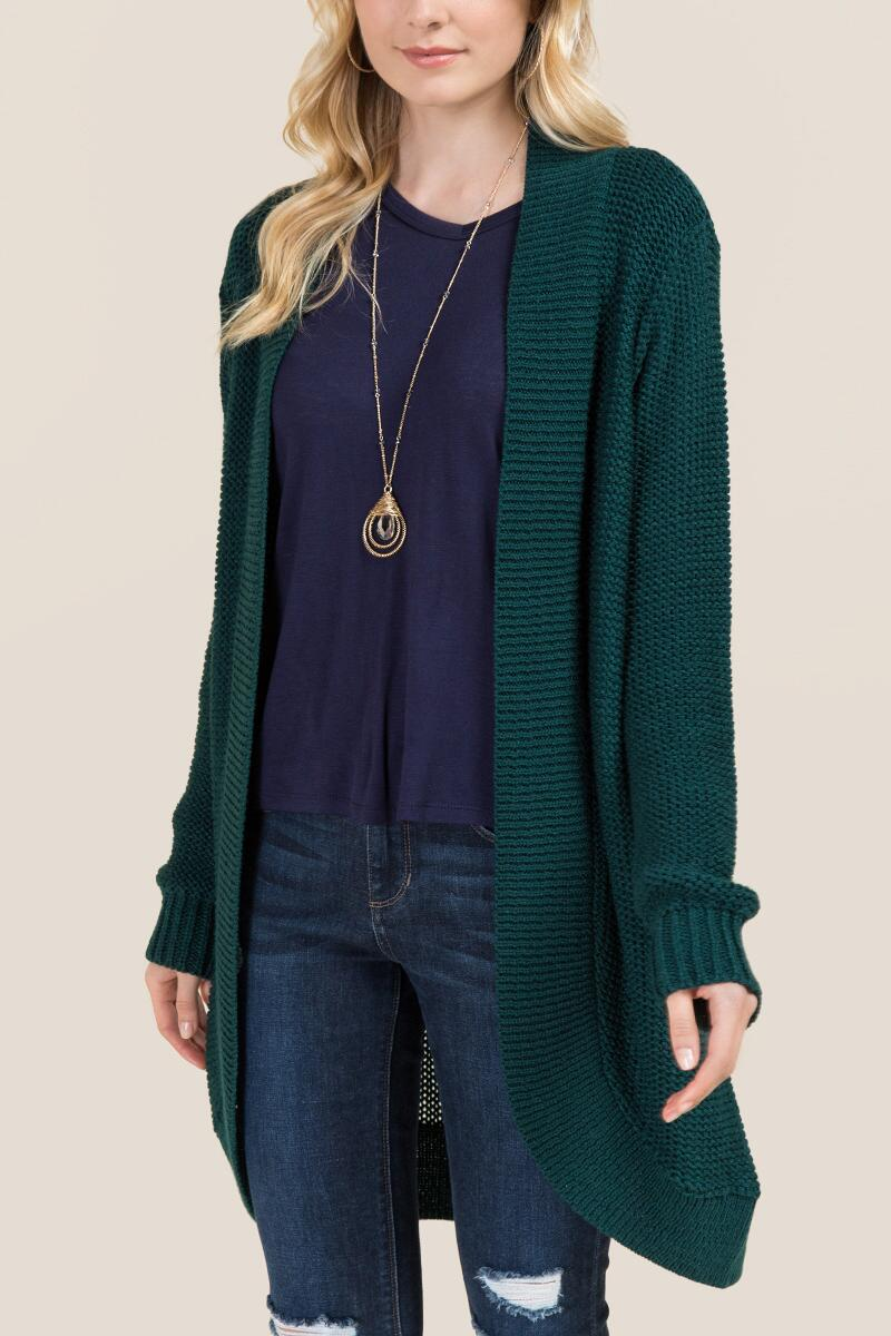 tanger outlets francescas long green cardigan