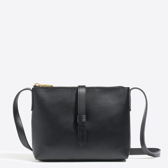 tanger outlets j crew black crossbody mini purse