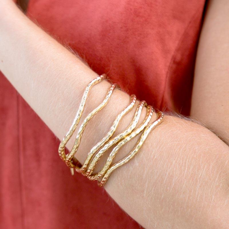 tanger outlets saks off fifth gold accessory bangle bracelets
