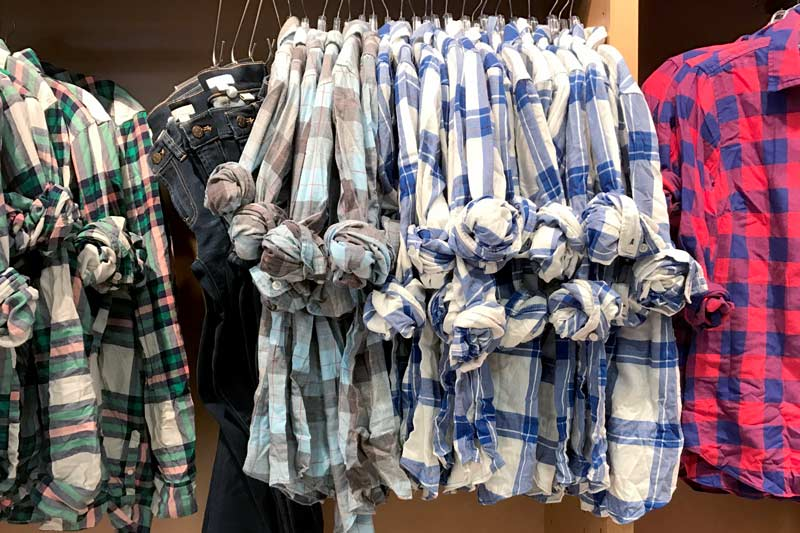 tanger outlets j crew assorted flannel button down shirts